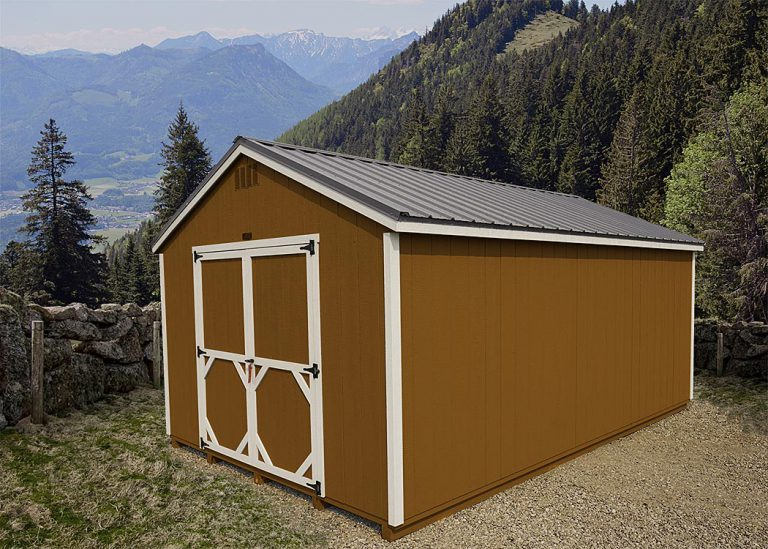 The A-Frame Shed