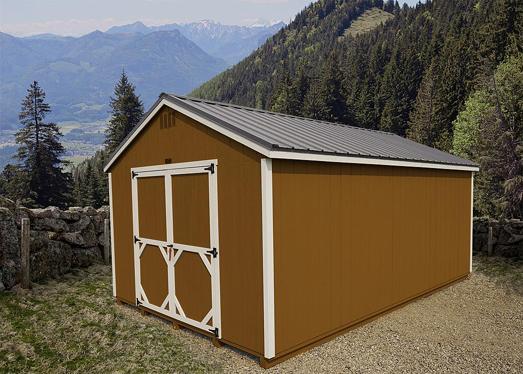 A-Frame Shed | Montana Shed Center