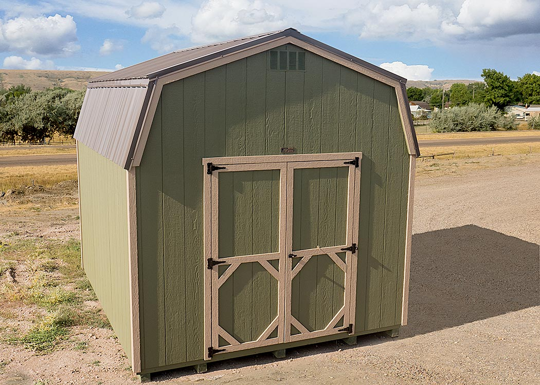 Hi-Side Shed | Montana Shed Center