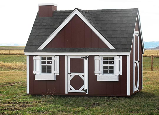 Red Playhouse  sc 1 st  Montana Shed Center & Playhouse | Montana Shed Center