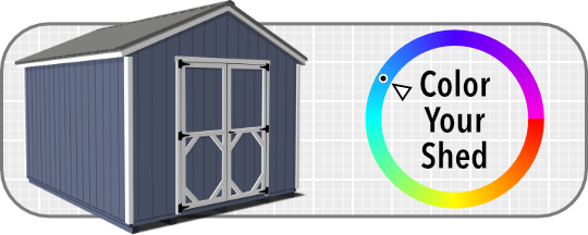 Color Your Shed