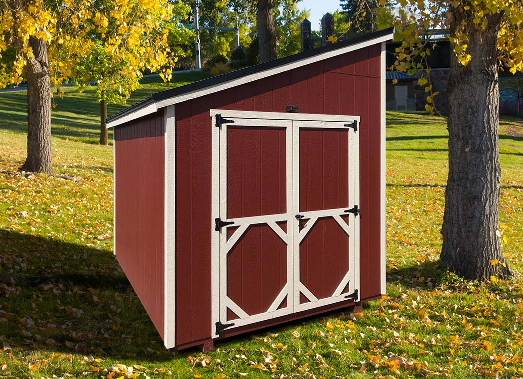 Single Slope Shed