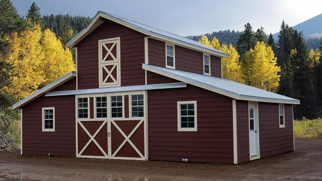 Montana Shed Center Horse Barn